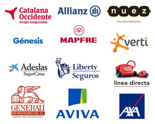 Marcas de compañías de seguros de moto