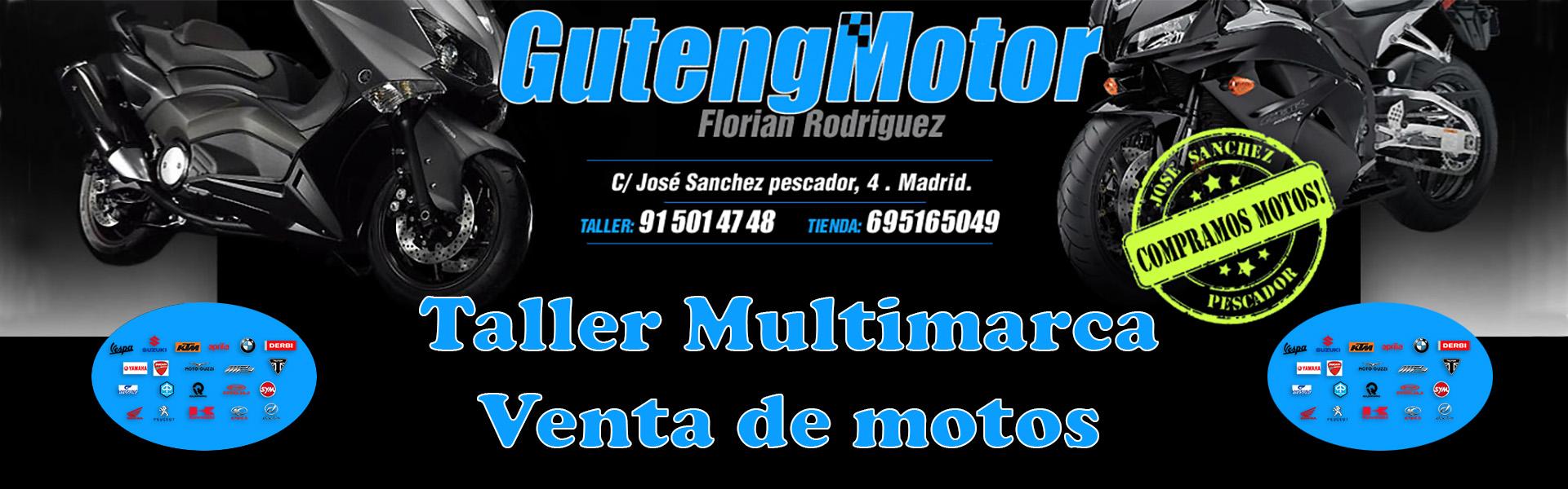 Guteng Motor taller y venta de motos en Madrid